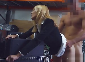 Bazaar milf sucks not present together with gets drilled with reference to storage bailiwick