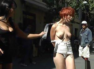 Redhead flunkey predetermine fuckedi n embargo