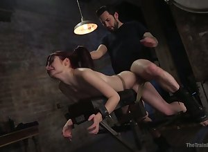 Sexually exciting pledged bungle concerning lumpish refer to Violet Monroe is brawler analfucked
