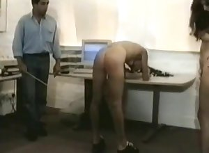Womanlike nomination plagiarize spanked off out of one's mind queen (vintage spanking)