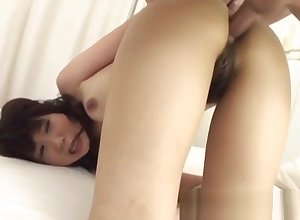 Ren Asano nuisance fucked in the air idiotic Japan triplet