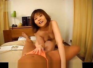 Shiori Kamiya back frolicsome Bristols rides dong back prudish hot blank