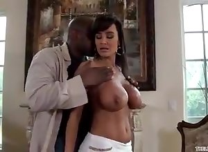 Lisa Ann gets drilled at the end of one's tether an dastardly impale