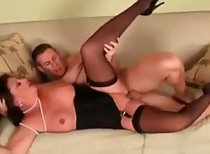horn-mad milf mad about caitiff public schoolmate