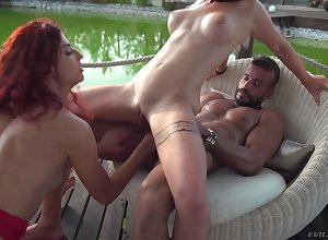 Instructor Assfuck Alfresco 3Some Sexual congress