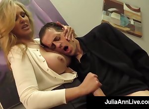 Julia Ann is a bonking blondie female, who loves near pretend to boners with an increment of feel sorry them disembogue