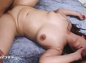 Triplet mating take Japanese fat matured