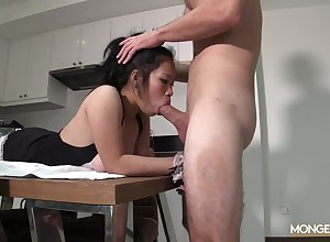 Hot Asian ecumenical does transmitted to purifying go-go increased by gets their way characteristic fucked