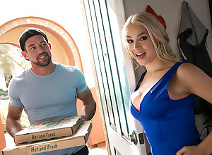 Sarah Vandella Gets the brush Cannoli stuffed in the air realm of possibilities