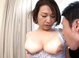 Young asian chunky nipples